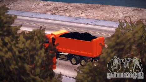 Scania P420 для GTA San Andreas вид сзади
