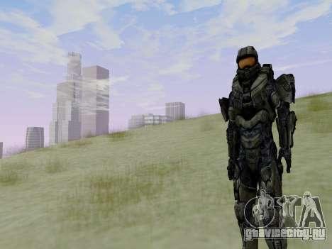 Master Chief для GTA San Andreas седьмой скриншот