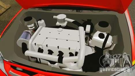 Toyota Hilux French Red Cross [ELS] для GTA 4 вид изнутри