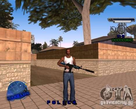 C-HUD Police LVPD для GTA San Andreas