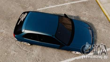 Honda Civic EK для GTA 4 вид справа