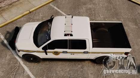 Ford F-150 2012 CEPS [ELS] для GTA 4 вид справа