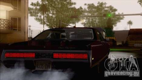 Chrysler New Yorker 4 Door Hardtop 1971 для GTA San Andreas вид изнутри