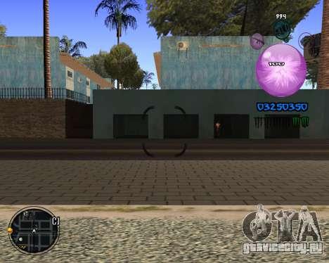C-HUD Dony Scofield для GTA San Andreas третий скриншот