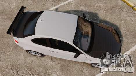 BMW 1M 2014 для GTA 4 вид справа