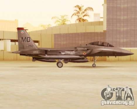 F-15E Strike Eagle для GTA San Andreas вид сзади слева