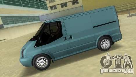 Ford Transit Sportback 2011 для GTA Vice City вид слева