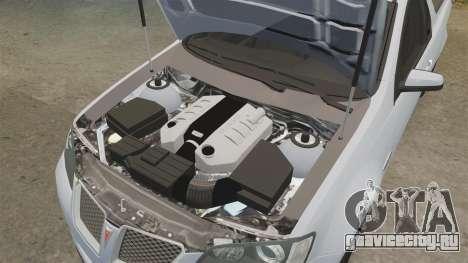 Pontiac G8 Sport Truck 2010 для GTA 4 вид сбоку