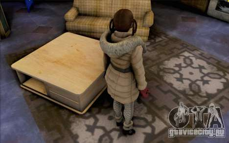 Lei из Dead or Alive 5 для GTA San Andreas третий скриншот