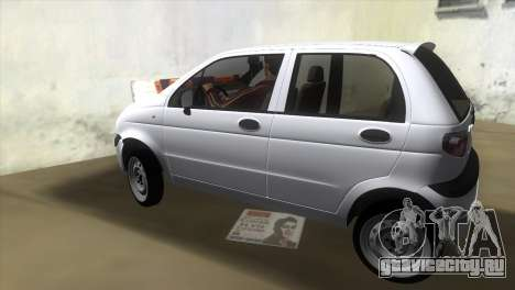 Daewoo Matiz для GTA Vice City вид слева