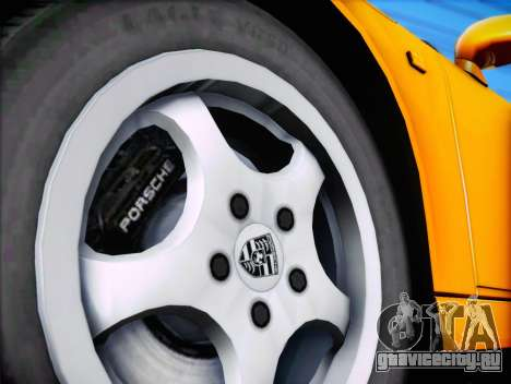 Porsche 911 Speedster Carrera 2 1992 для GTA San Andreas вид сбоку