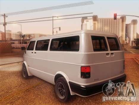 Youga из GTA 5 для GTA San Andreas вид слева
