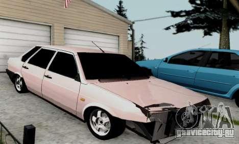 ВАЗ 21099 Бродяга для GTA San Andreas вид слева