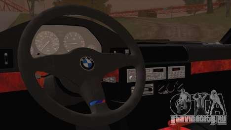 BMW 535i E34 Mafia Style для GTA San Andreas вид сзади