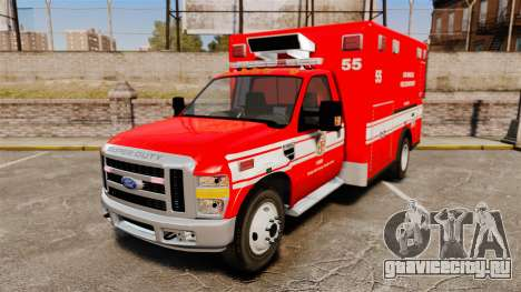 Ford E-350 LAFD Ambulance [ELS] для GTA 4