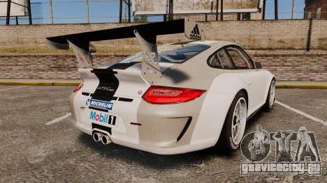 Porsche 911 (997) GT3 Cup для GTA 4 вид сзади слева