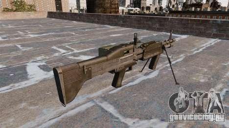 Единый пулемёт M60E4 для GTA 4 второй скриншот