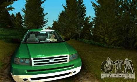 Landstalker GTA IV для GTA San Andreas вид изнутри
