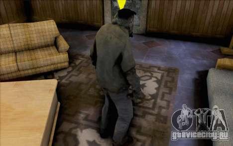 Smoker из Left 4 Dead для GTA San Andreas второй скриншот