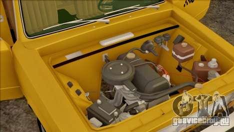 ВАЗ 21011 Такси для GTA San Andreas двигатель