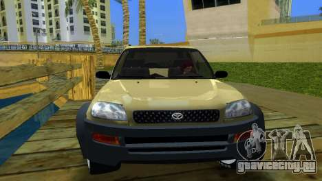 Toyota RAV 4 L 94 Fun Cruiser для GTA Vice City вид сзади слева