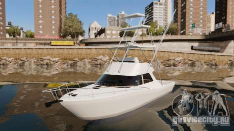 Sport fishing yacht для GTA 4