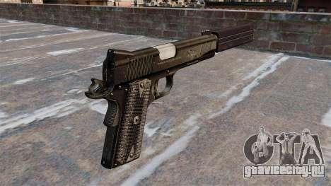 Пистолет Colt 45 Kimber для GTA 4 второй скриншот