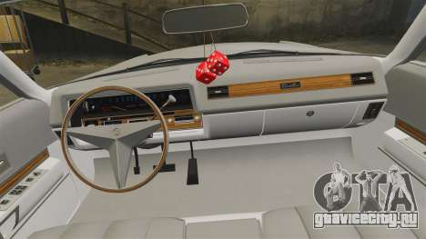 Cadillac Eldorado Coupe 1969 для GTA 4 вид сбоку
