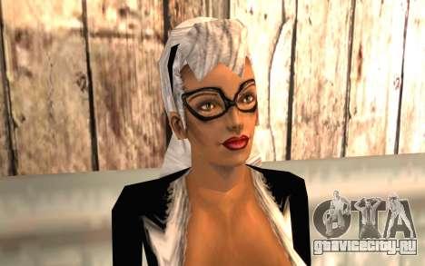 Чёрная Кошка HD для GTA San Andreas