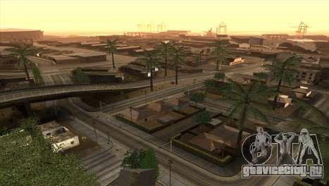 ENBseries for Low PC для GTA San Andreas четвёртый скриншот