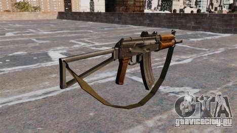 Автомат АКС74У с ремешком для GTA 4 второй скриншот
