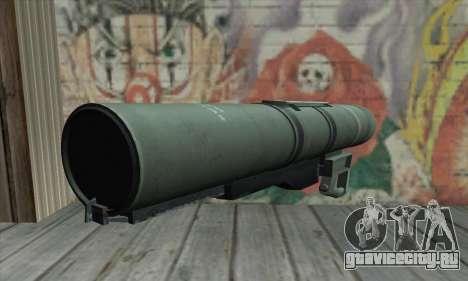 Bazooka для GTA San Andreas второй скриншот