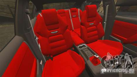 Holden HSV W427 2009 для GTA 4 вид изнутри