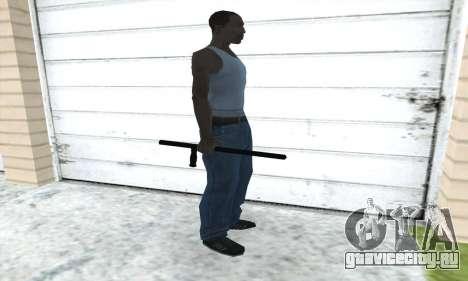 Полицейская дубинка для GTA San Andreas третий скриншот
