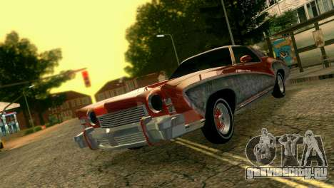 Chevy Monte Carlo Lowrider для GTA Vice City