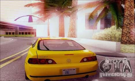 Acura RSX для GTA San Andreas вид справа