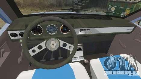 Renault 12 Toros v2.0 для GTA 4 вид сзади