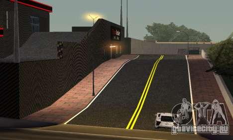 Новый автосалон в Dorothi для GTA San Andreas третий скриншот