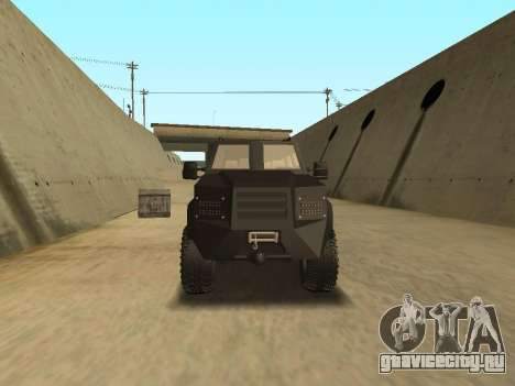 Ford Super Duty Armored для GTA San Andreas вид справа