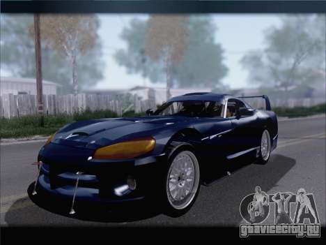 Dodge Viper Competition Coupe для GTA San Andreas вид слева