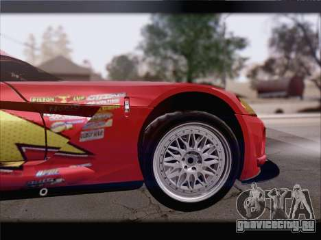 Dodge Viper Competition Coupe для GTA San Andreas салон