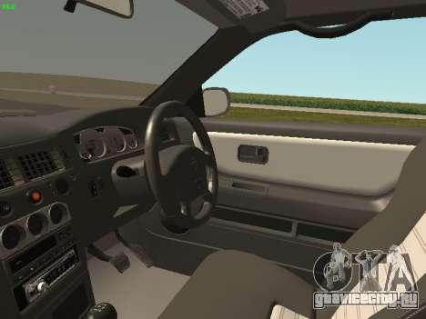 Nissan Skyline R33 GT-R для GTA San Andreas вид сзади