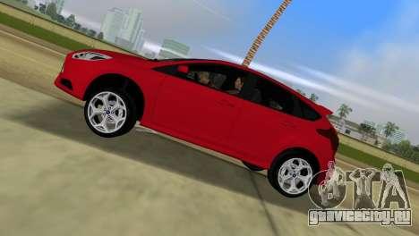 Ford Focus ST 2013 для GTA Vice City вид сзади слева