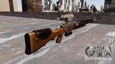 Снайперская винтовка FR-F2 для GTA 4 второй скриншот