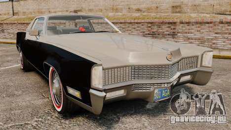Cadillac Eldorado Coupe 1969 для GTA 4