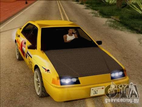 Stratum Sedan Sport для GTA San Andreas вид сзади