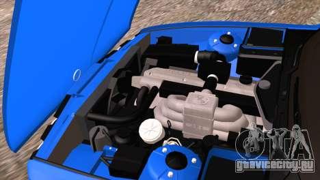 BMW 535i E34 Mafia Style для GTA San Andreas вид сверху