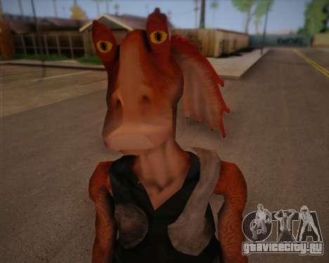 Jar Jar Binks для GTA San Andreas третий скриншот