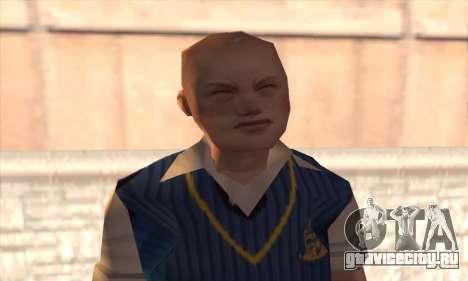 Jimmy Hopkins для GTA San Andreas третий скриншот