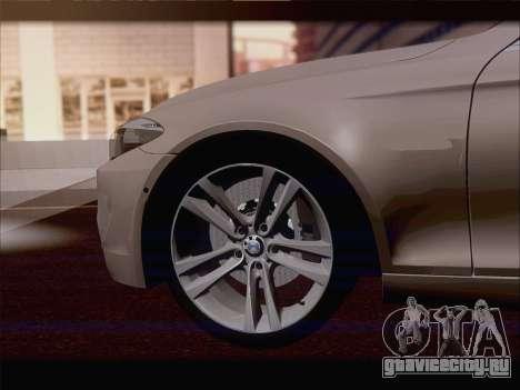 BMW M5 F11 Touring для GTA San Andreas вид сверху